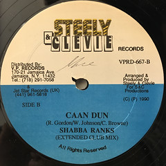 SHABBA RANKS:CAAN DUN(LABEL SIDE-A)