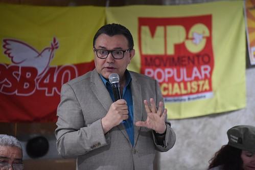 Terceira etapa do curso de formação política do MPS - 27/10/2017