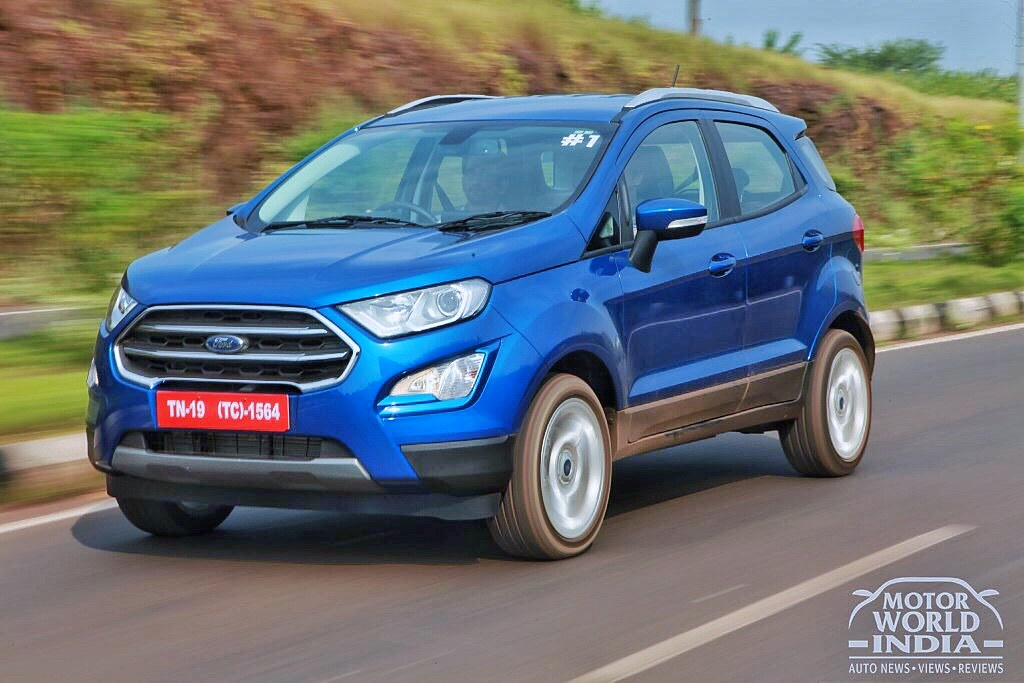Ford Ecosport Facelift Road Test Review Motor World