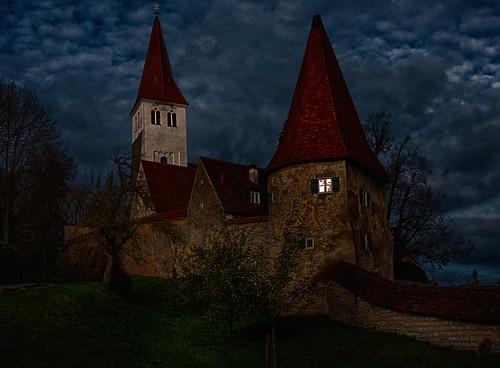 Last light illumination