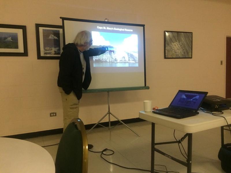 Bill Montevecchi-Great Auk talk & museum visit, fall 2015