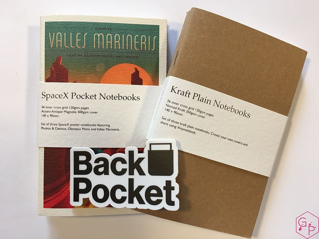 Review @BackPocketCo Pocket Notebooks 1
