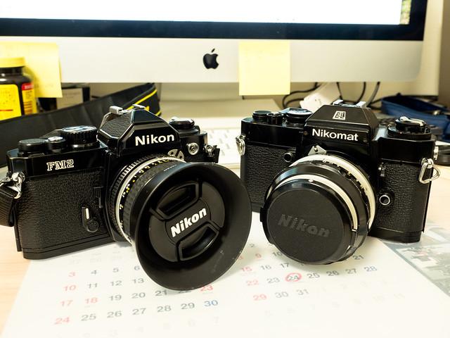 Nikon FM2 Nikomat EL