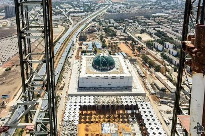 مشروع جامع الجزائر الأعظم: إعطاء إشارة إنطلاق أشغال الإنجاز - صفحة 20 26216493199_d0d9501104_b