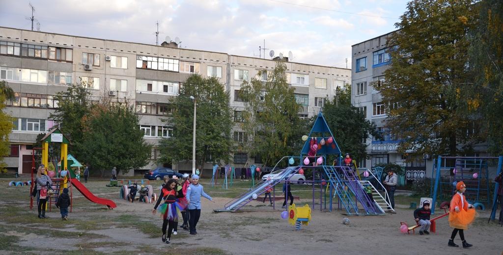 спортивно - игровая площадка на ул. Заводская