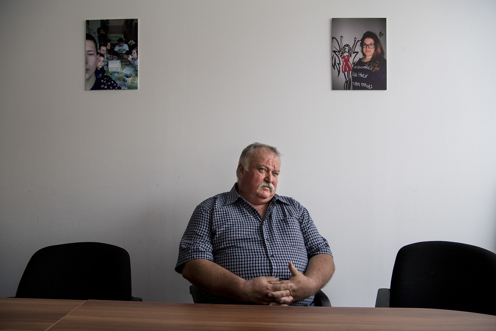 Turcsik László, a lakásotthon fenntartója | Fotó: Hajdú D. András