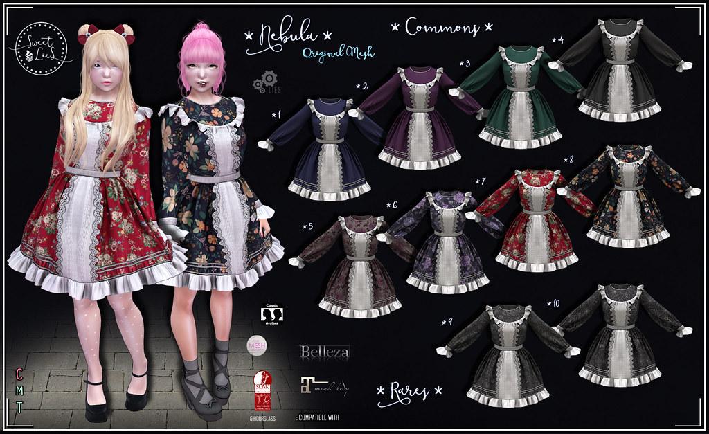 Nebula Outfit Gacha - Sweet Lies Original - TeleportHub.com Live!