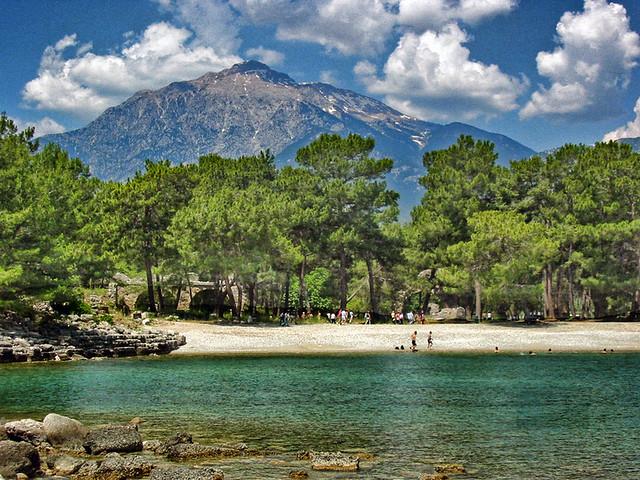 Узбережжя турецької Анталії