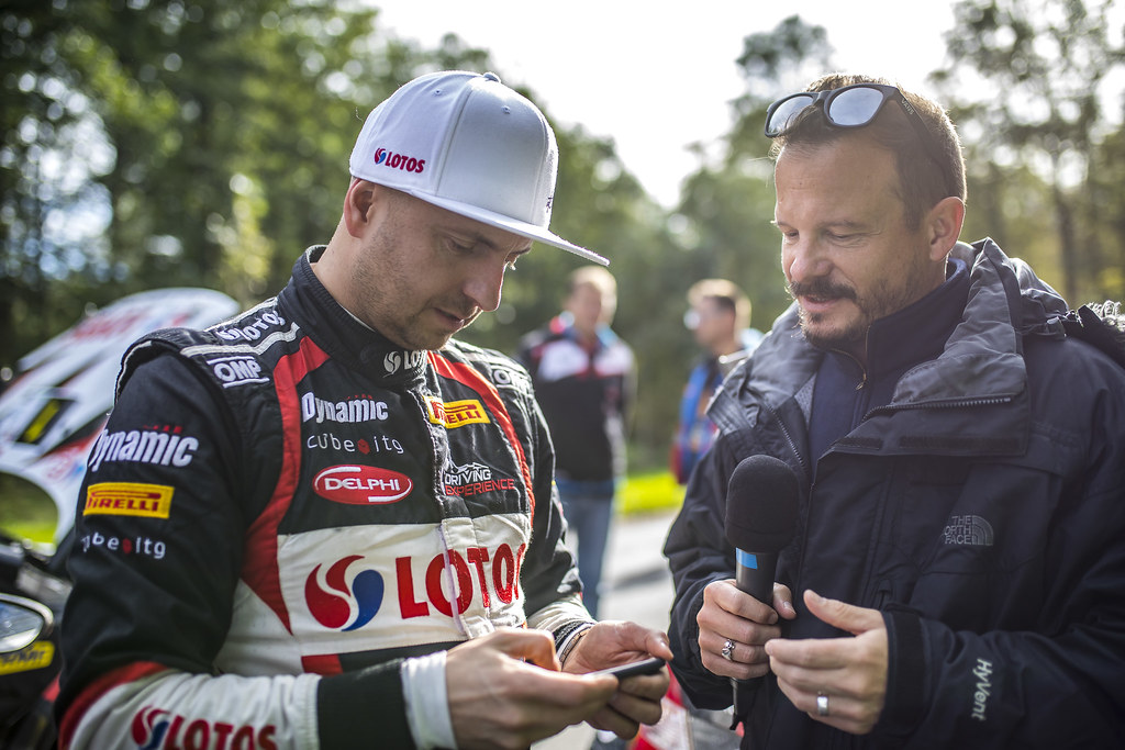 Kajetanowicz Kajetan and Baran Jaroslaw, Lotos Rally Team, Ford Fiesta R5 ambiance portrait during the 2017 European Rally Championship ERC Liepaja rally,  from october 6 to 8, at Liepaja, Lettonie - Photo Gregory Lenormand / DPPI
