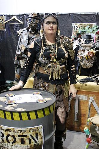 Post-apocalyptic tribe