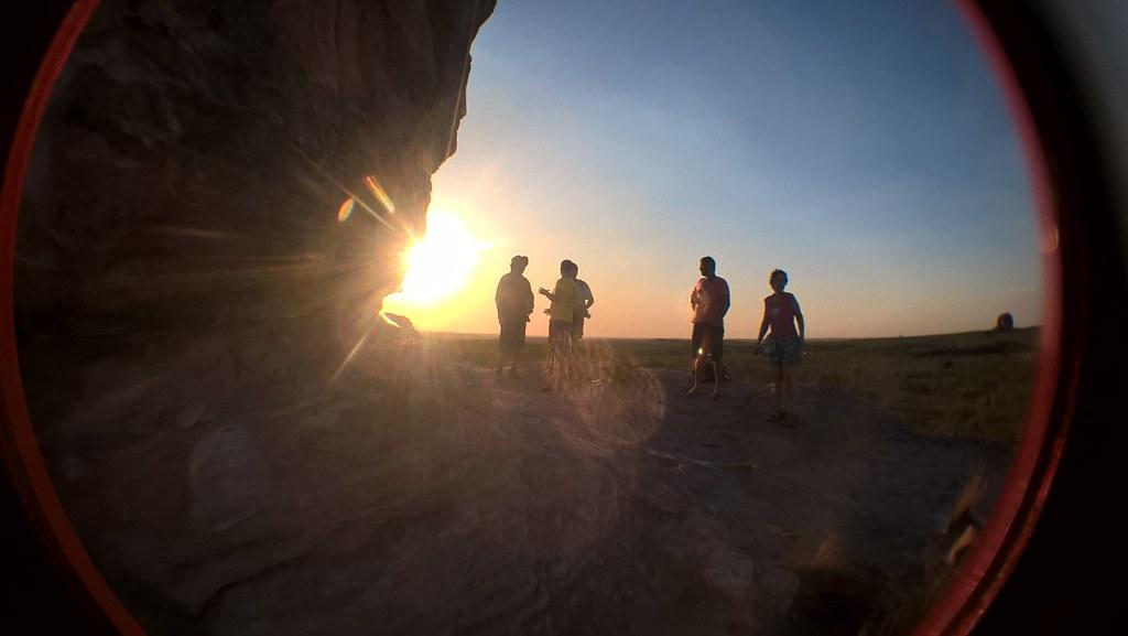 Jalapão (TO)_2 Pôr do sol na Pedra Furada