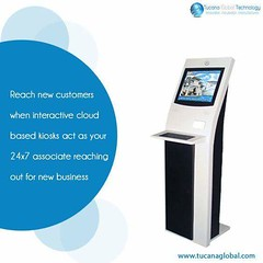 Reach new #customers when #interactive #cloud based #kiosks act as your 24X7 #associate, reaching out for new #business. #TucanaGlobalTechnology #Manufacturer #HongKong