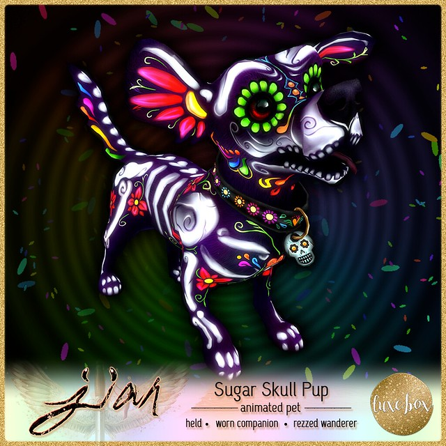 JIAN Sugar Skull Pup (Luxe Box Oct.)