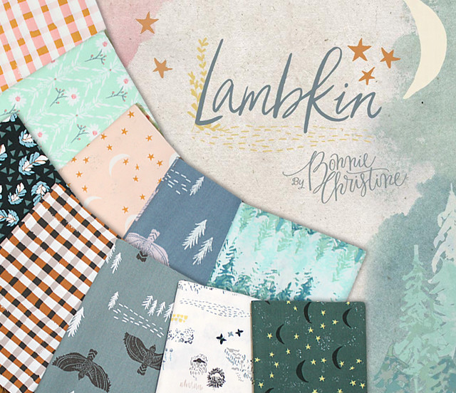 Art Gallery Fabrics Lambkin Collection by Bonnie Christine
