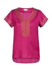 ฿2490 JOURNAL เสื้อเบลาส์ รุ่น JA1101850 ไซส์ 6 สีม่วง