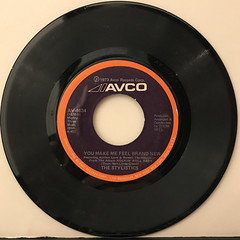 THE STYLISTICS:YOU MAKE ME FEEL BRAND NEW(RECORD SIDE-A)