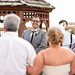 Happy groom - first look with bride by Ryan Smith Photography