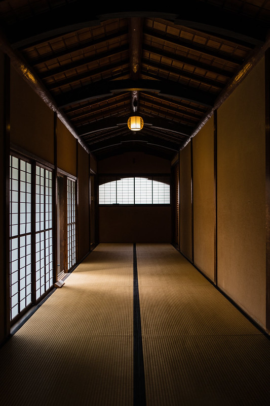 旧岩崎邸和館の通路