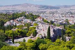 Greece - Athens - Acropolis - Areopagus and Athens Panorama