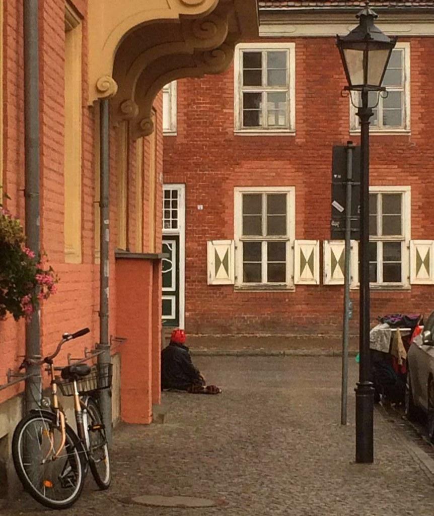 Potsdam has a famous Dutch Quarter