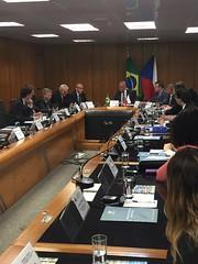 Rodada de negociação para acordo bilateral de previdência entre Brasil - República Checa