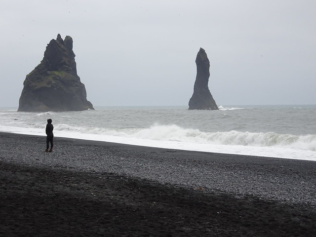Sea Stacks off Reynisfjara Beach