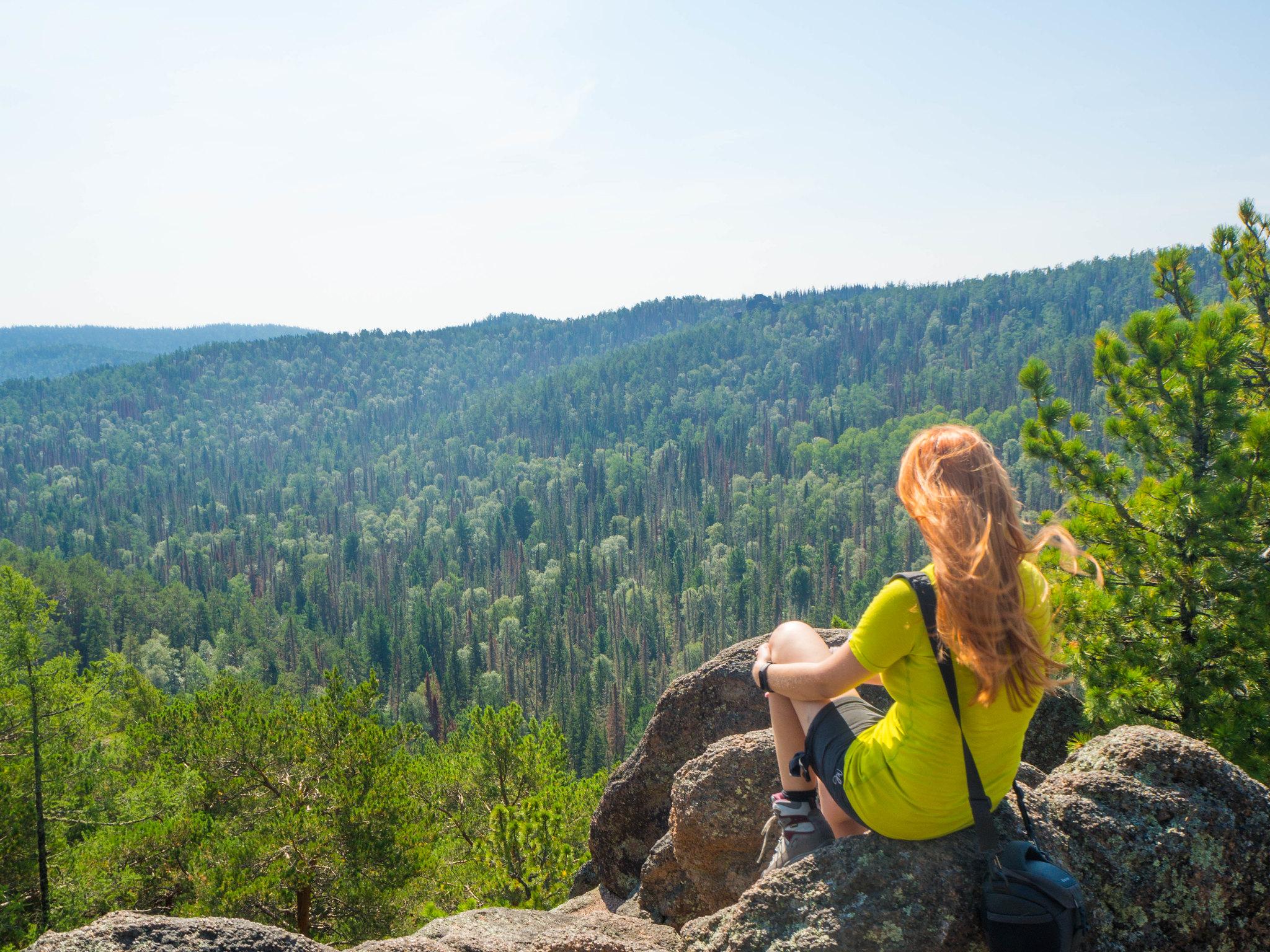 Výhled na přírodní rezervaci // View of the nature reserve