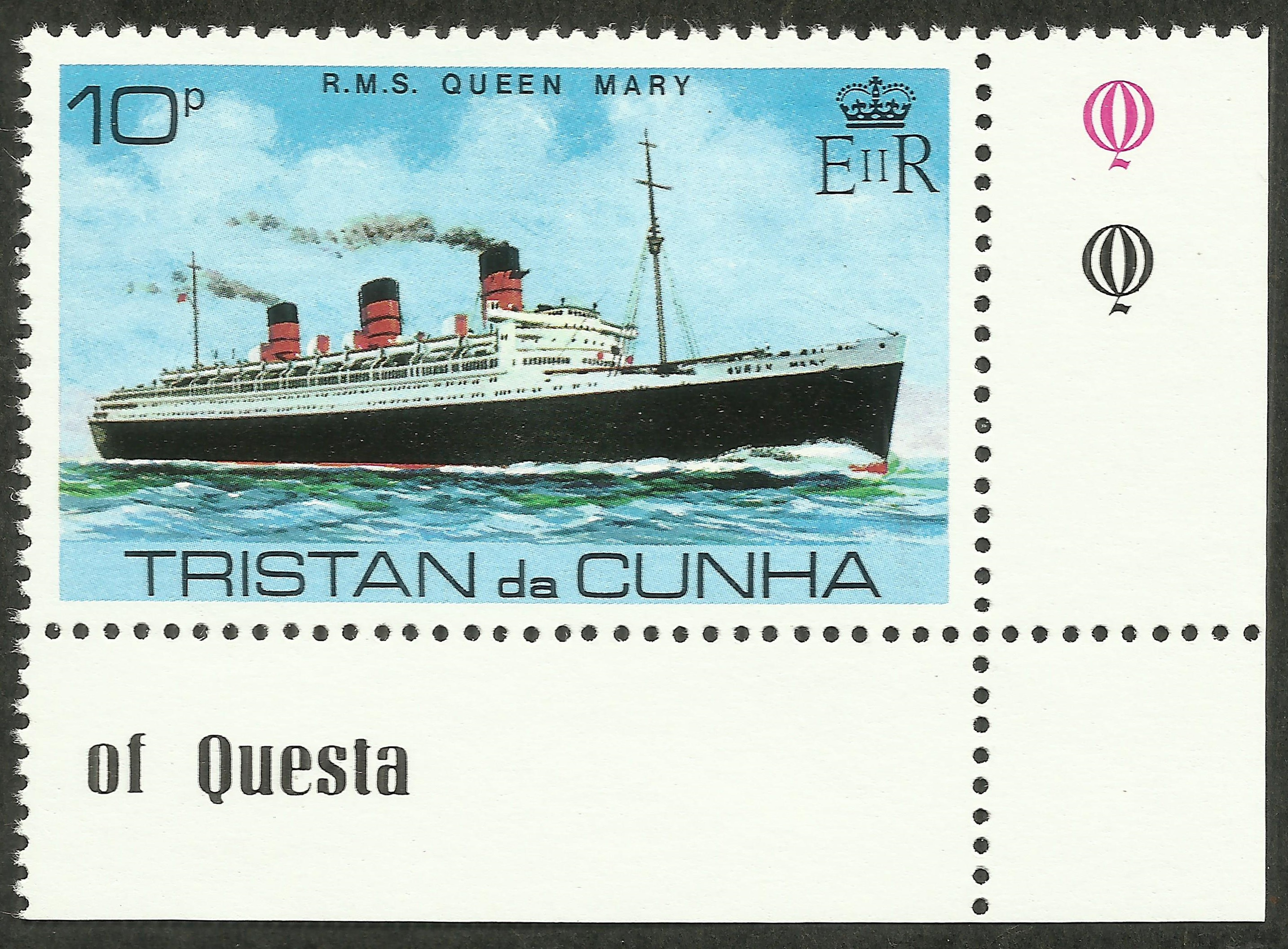 Tristan da Cunha #256 (1979}