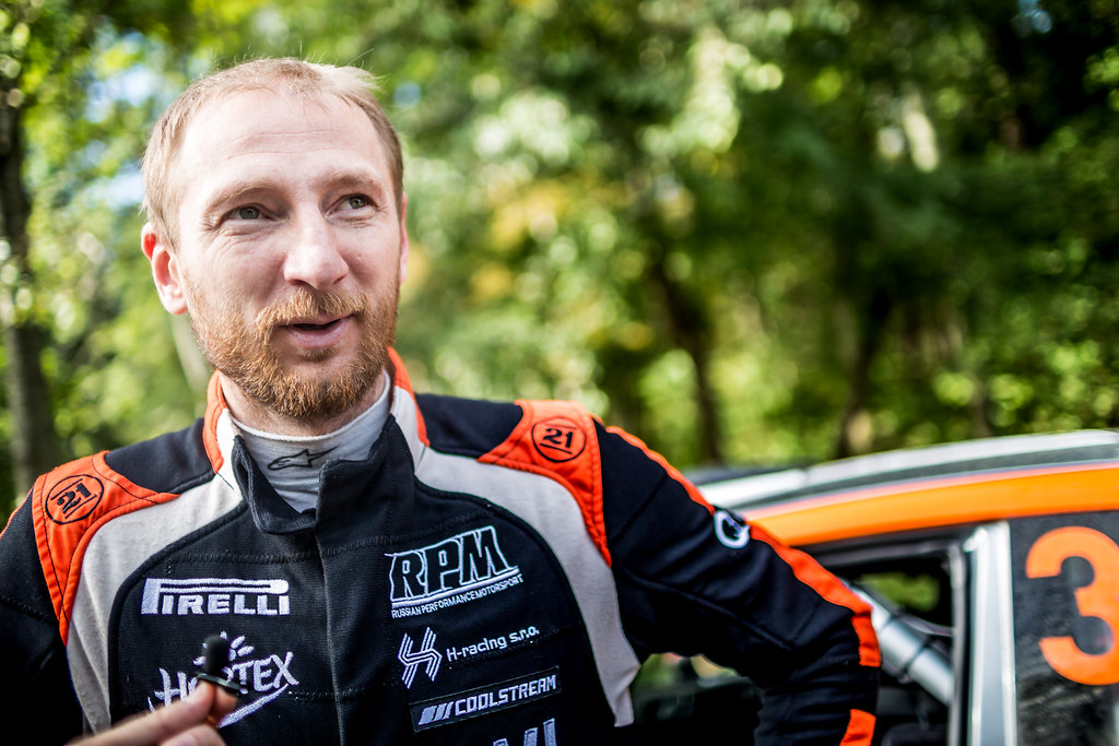 Lukyanuk Alexey, Russian Performance Motorsport, Ford Fiesta R5 ambiance portrait during the 2017 European Rally Championship ERC Liepaja rally,  from october 6 to 8, at Liepaja, Lettonie - Photo Thomas Fenetre / DPPI