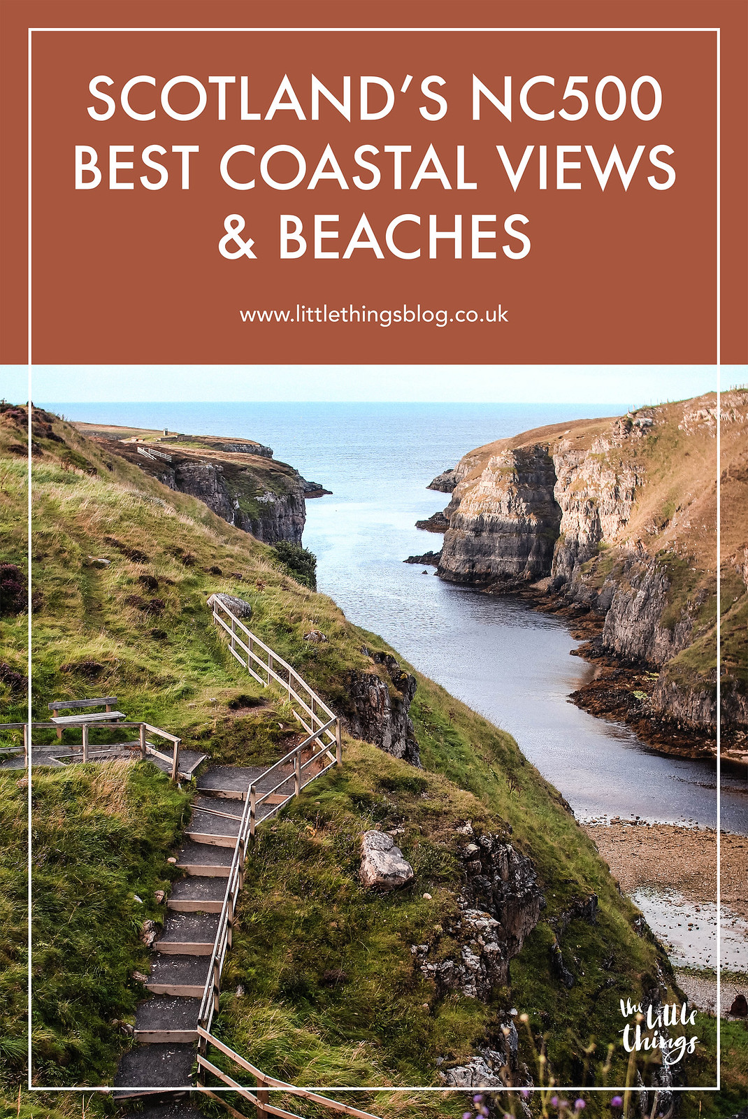 Scotland's NC500 Route best coastal views and beaches travel blogger UK