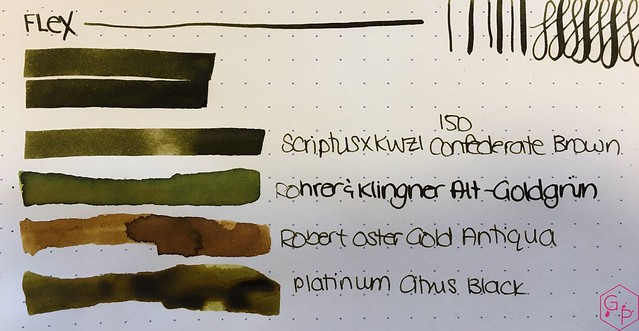 Ink Shot Review Scriptus 2017 x KWZI 150 Confederate Brown 5