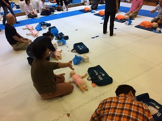 2017/10/8 上級救命技能講習会