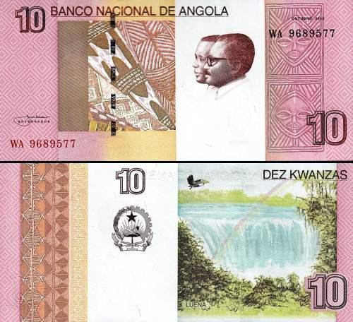 10 Kwanzas Angola 2012 (2017), P151B
