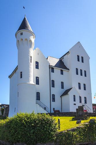 marcial bernabeu bernabéu irlanda ireland irish irlandes ring anillo kerry cahersiveen oldbarracks castle castillo white blanco