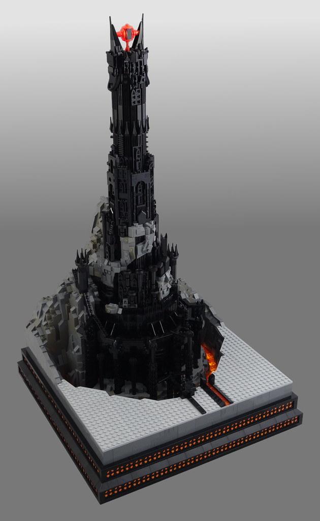Barad-dûr, home of Sauron