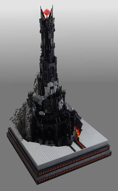 how to get sauron in lego hobbit