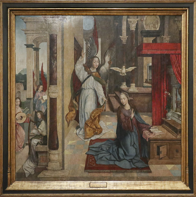 The Annunciation, 1523, Frei Carlos