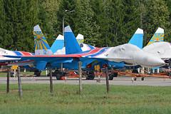 Sukhoi Su-27P '12 blue'