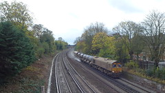 66730 'Whitemoor' and 66704 'Colchester Power Signalbox', Streatham