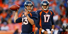 Brock Osweiler makes brief return for Broncos after Trevor Siemian hurts shoulder