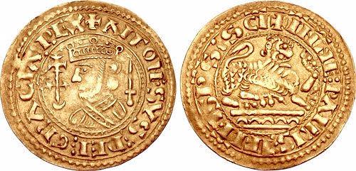 2 Maravedis Alfonso IX el Baboso