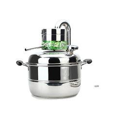 10 Litre Household Stainless Steel Home Alcohol Distiller Brewing Device Spirits Distillation Boiler (1028982) #Banggood