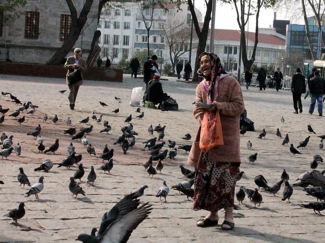 People of Beyazit Square 1