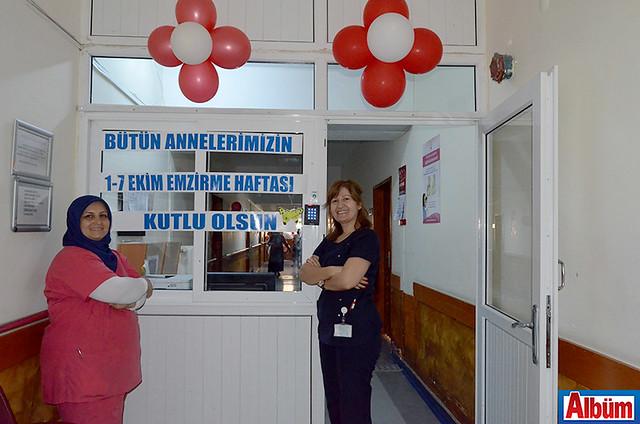 ALKÜ Alanya Eğitim ve Araştırma Hastanesi Yönetim Birimi Emzirme Haftası etkinlik-6