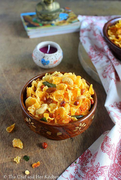 cornflakes chiwda
