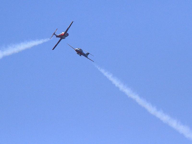 IMG_4525 Snowbirds Solos, Huntington Beach Air Show