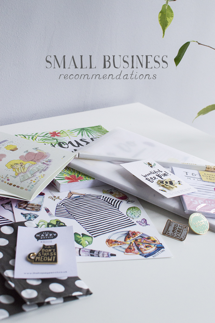 Small business recommendations