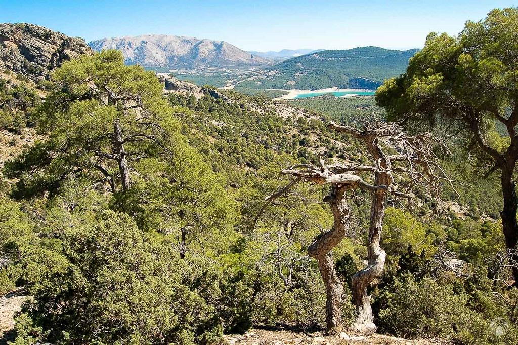 Típica imagen de la Bolera desde la sierra del Pozo