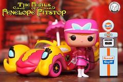 Set my heart on fire like Gasoline...  🔥   - Penelope Pitstop (Hanna-Barbera's Wacky Races)