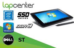 DELL LATITUDE ST ATOM 2GB 64 GB SSD 1280x800 Win7